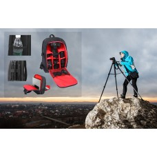 Large Capacity Waterproof Camera Backpack