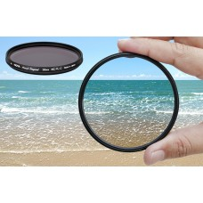 Polarizer filter Hoya PRO1 CPL for enhanced saturation, contrast and image quality