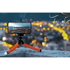 Versatile Mini Tripod / Selfie  Holder with flexible legs and BT remonte