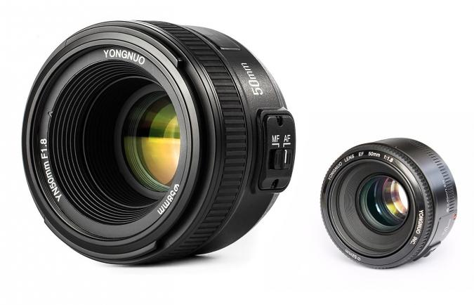 Versatile 50mm f1.8 Prime Lens with great shallow depth of field